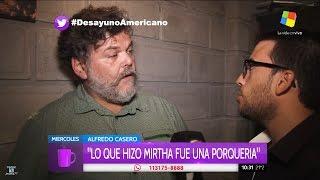 """A.Casero sobre su entrevista con Fantino, en """"Desayuno Americano"""", de P.David - 22/03/17"""
