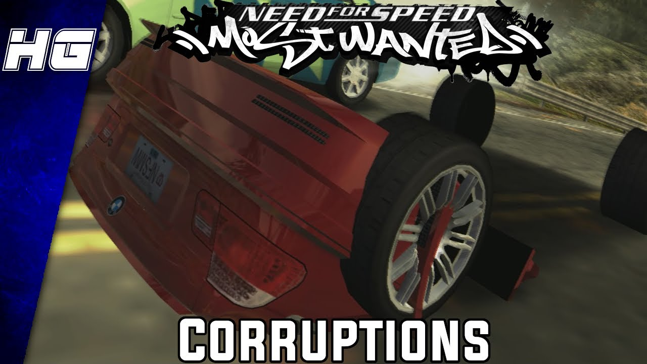 This is Need for Speed: Most Wanted on Drugs  (Corruptions)
