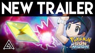 Pokemon Sun & Moon NEW Gameplay! Z-Moves, Island Trials, Poke Ride & More!