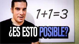 1 1=3 ¿Paradoja matemática? | Problemas y contradicciones