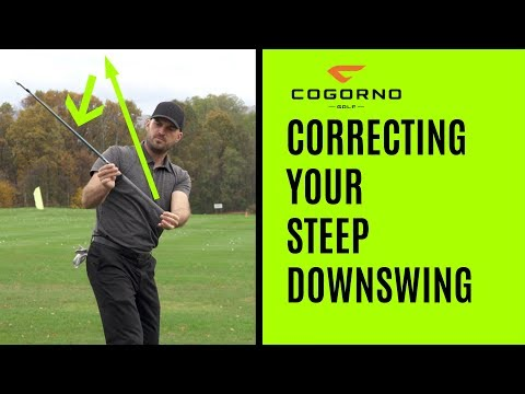 GOLF: Correcting Your Steep Downswing