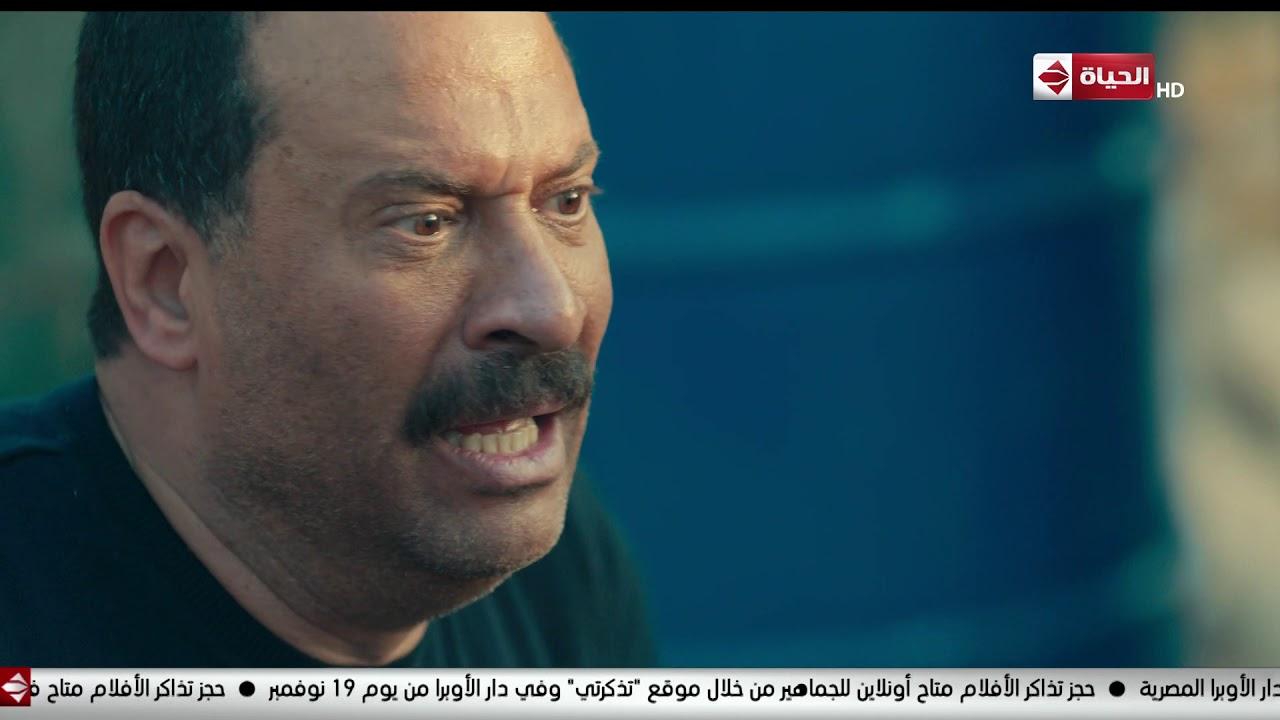 مسلسل بحر - هجوم الإرهابيين على ربيع وبحر ولحظة موت سالم ربيع يقتل إبنه بالغلط وقت ضرب النار