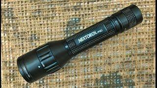 Відео огляд перезаряжаемого ліхтаря з двома джерелами світла P5G від ''Nextorch''.