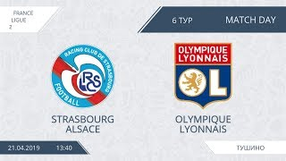 AFL19. France. Ligue 2. Day 6. Olympique Lyonnais - Strasbourg Alsace