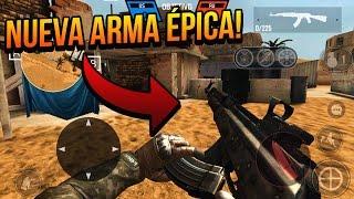 NUEVA ARMA AK-47 Y MP5 DE CRÉDITOS ACTUALIZACIÓN ÉPICA BULLET FORCE ANDROID & IOS!!