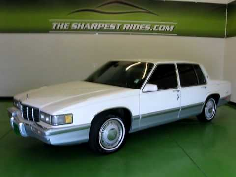 1991 Cadillac Deville S3674 Youtube