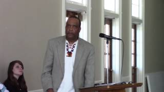 Rev. Leonard Fairley's Speech at the 2016 Jack Crum Conference b MFSA-NCC