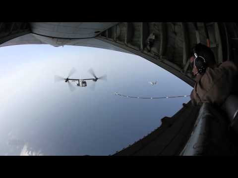 MV-22B Ospreys Refueling (2012)