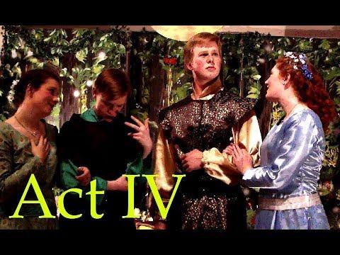 A Midsummer Night's Dream, Act 3 scene 2, Act 4 Scene 1