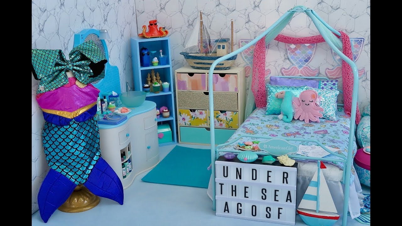 Baby Doll Disney Bedroom for The Little Mermaid!