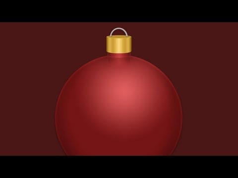Photoshop: Christmas Ornament Holiday Tutorial |