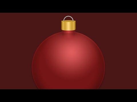 Photoshop: Christmas Ornament Holiday Tutorial |