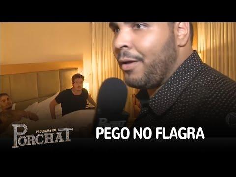 Paulo Vieira flagra Fábio Porchat com...