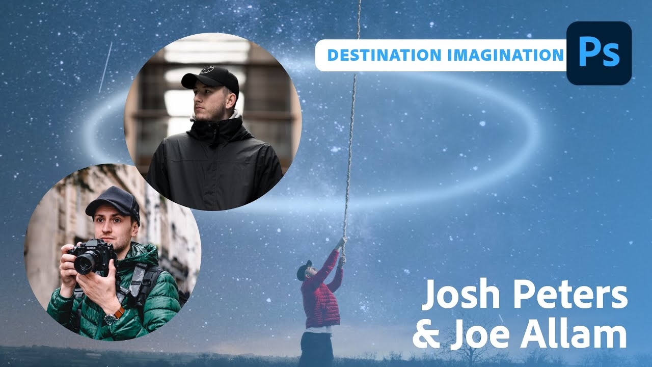 Destination Imagination - Content Creatiion with Josh Peters | Adobe Live