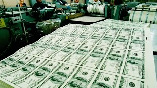 Как печатают и уничтожают доллары США?! Федеральный Резервный Банк США внутри