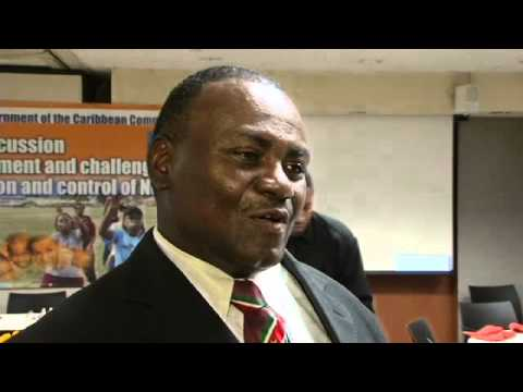 Dr. Celsius Waterberg, Minister of Health, Suriname, talks about NCDs