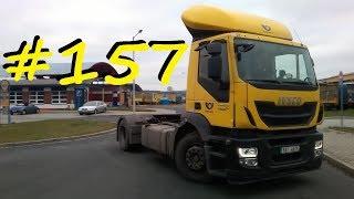 Český Truckvlog #157 - ,,Odpojení a zapojení návěsu / Samotná jízda s tahačem / Doplnění Ad-blue,,