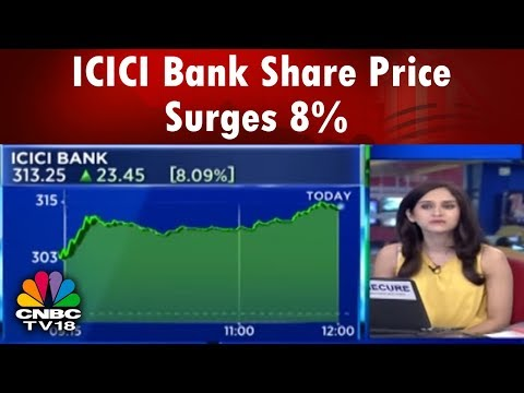 ICICI Bank Share Price Surges 8% | Halftime Report | CNBC TV18