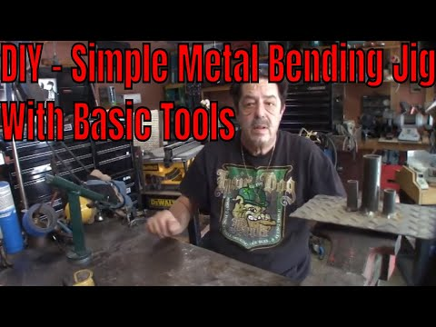Welding - How To Make a Simple Metal Bending Jig