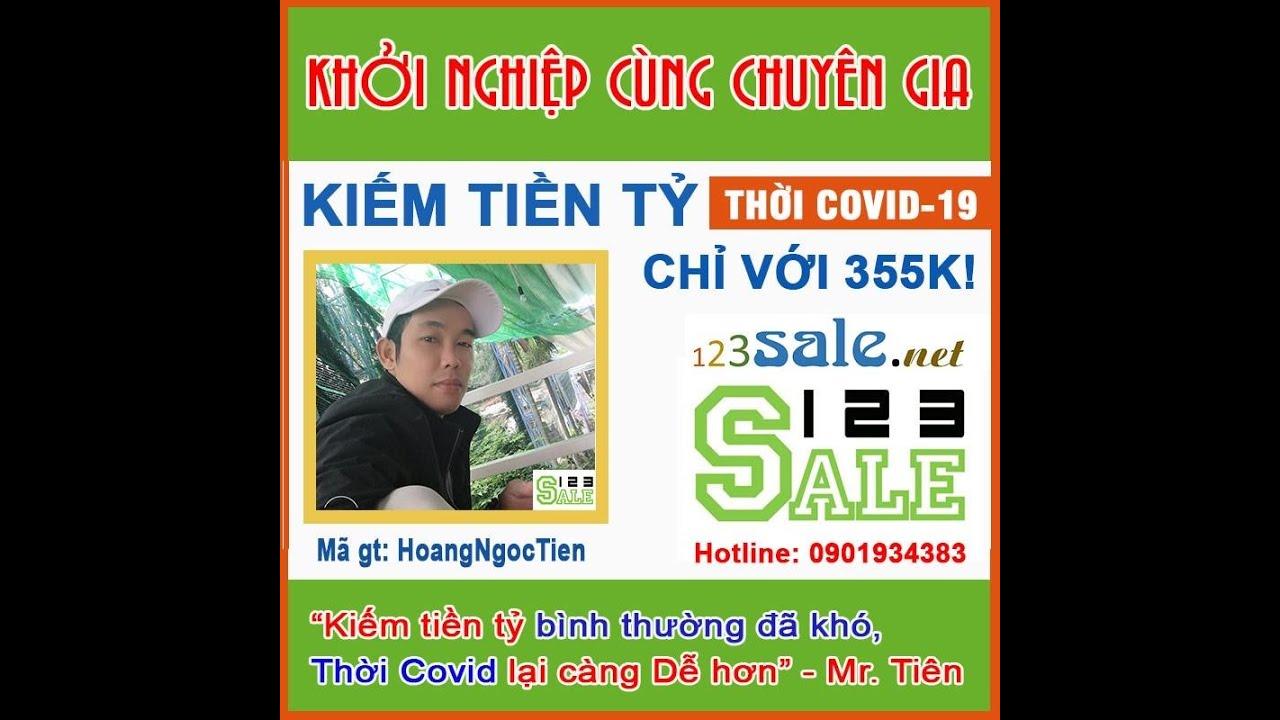 Kiếm tiền tỷ với trang thương mại điện tử 123Sale.net