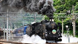 【C61 20】上越線SLぐんまみなかみ号【12系客車】20190713