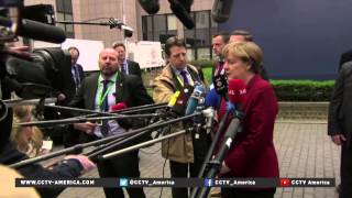EU leadership convene to discuss Greece austerity and Russian energy