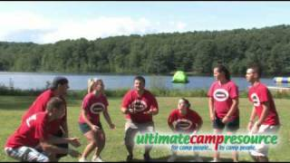 Whoosh Ball Camp Game - Ultimate Camp Resource