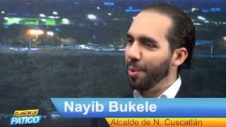 NAYIB BUKELE  Alcalde salvadoreño de Nueva Esparta