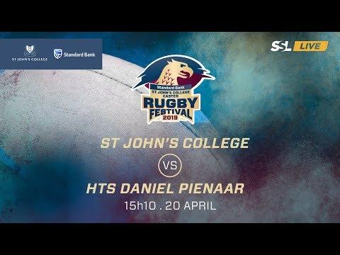 St John's College vs HTS Daniel Pienaar, St John's College Easter Rugby Festival 2019