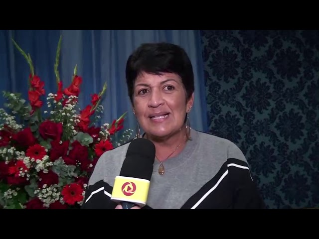 Secretária de Educação participa do culto em ação de graças pelos 114 anos de Laje