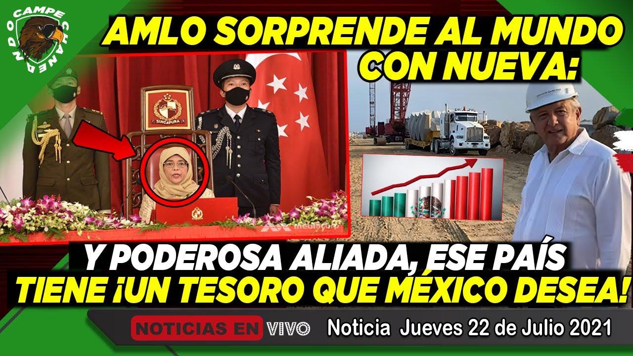 AMLO ¡REVELA A NUEVA Y PODEROSA ALIADA! QUE TIENE UN TESORO ¡QUE MÉXICO NECESITA! NOTICIA DE HOY