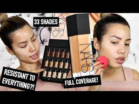 BRAND NEW | NARS NATURAL RADIANT LONGWEAR 16 HR FOUNDATION | WEAR TEST