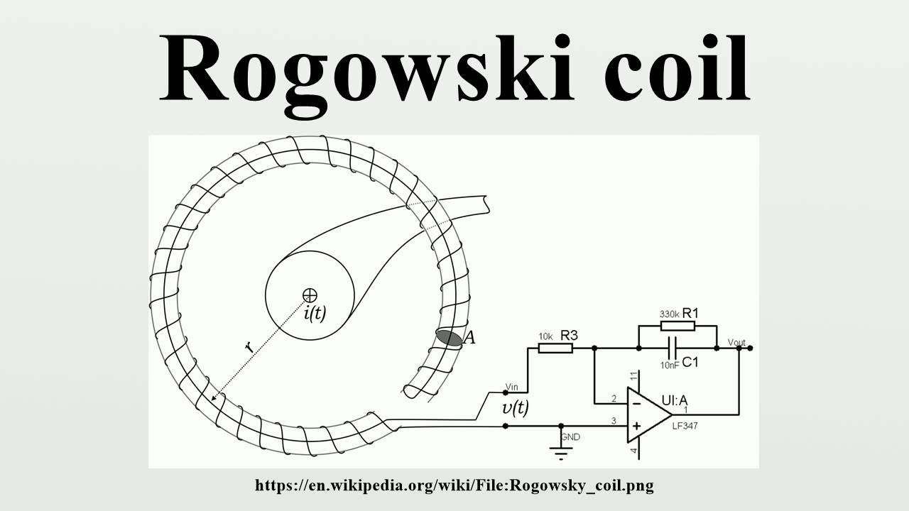 Rogowski coil