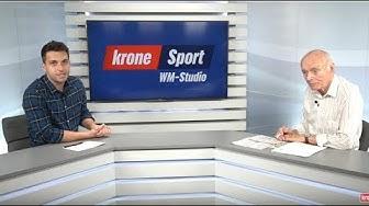 Das Krone WM-Sportstudio - Die Pausenanalyse Senegal gegen Kolumbien