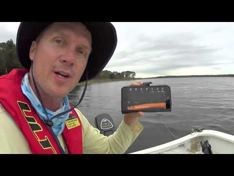 Deeper Fishfinder Field Test