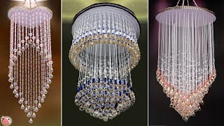 10 All..... Beautiful Peals Wall Hanging Ideas !!! DIY Jhumar Making