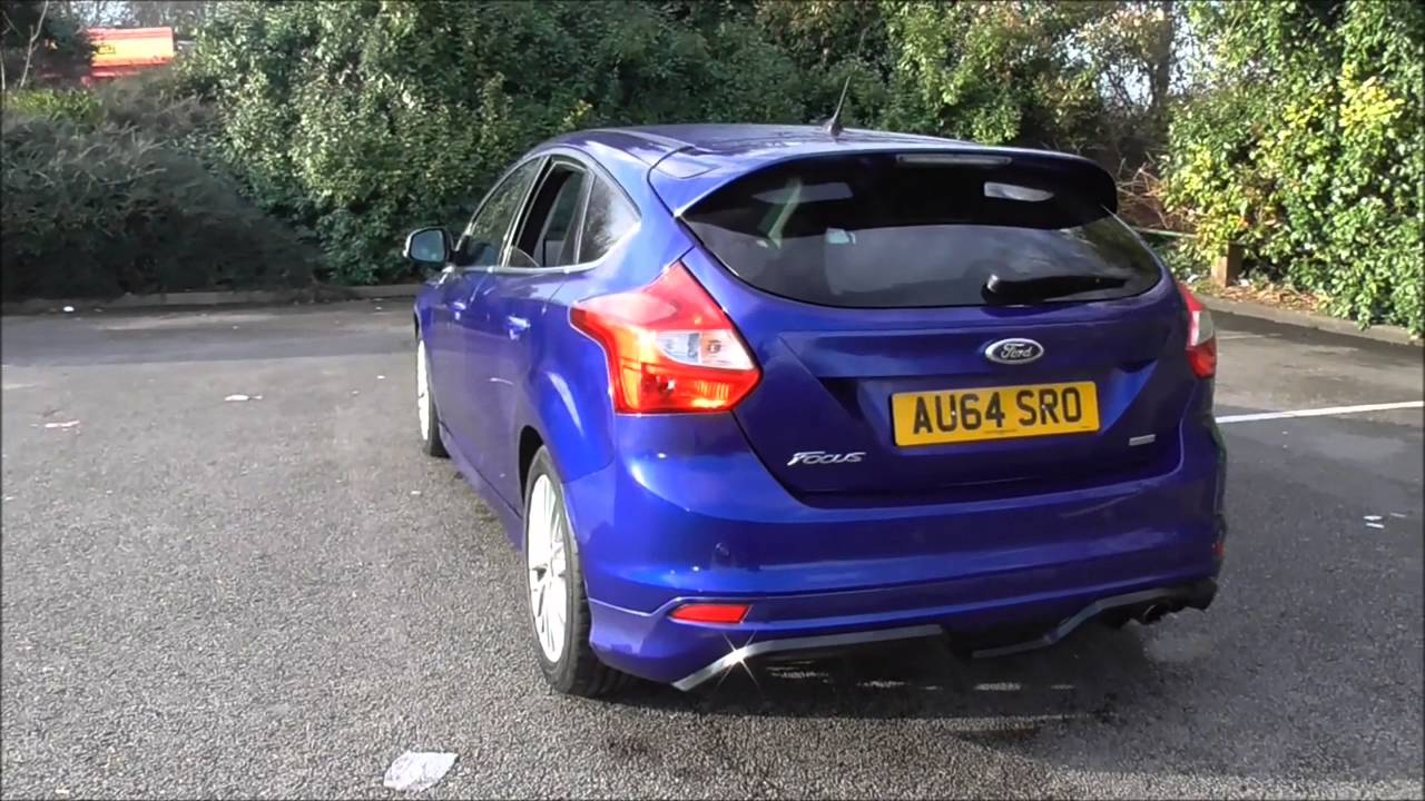 ford focus 1.6 182 ecoboost zetec s 5dr u73745 - youtube