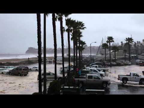 Santa Barbara Harbor Storm Surge