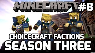 Choicecraft Factions S3: Episode 8: Blaze Time (Arrival at the Nether Fortress!)
