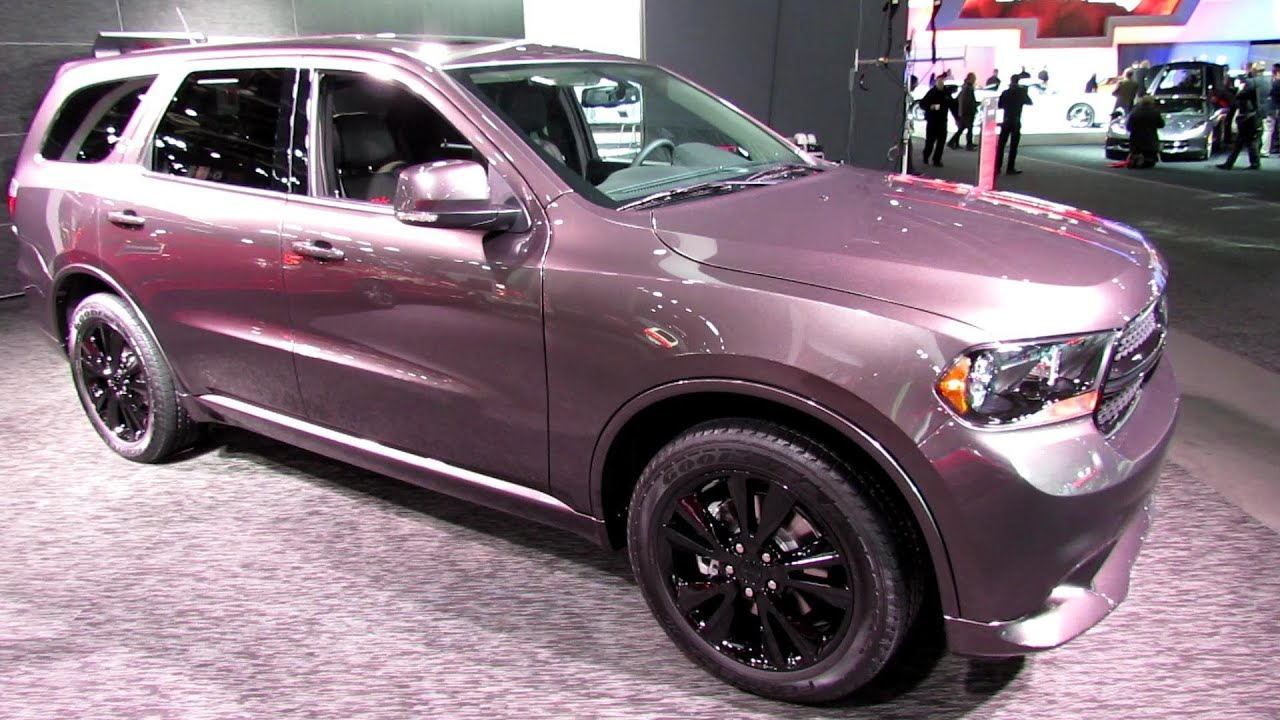 2013 Dodge Durango Rt Exterior And Interior Walkaround