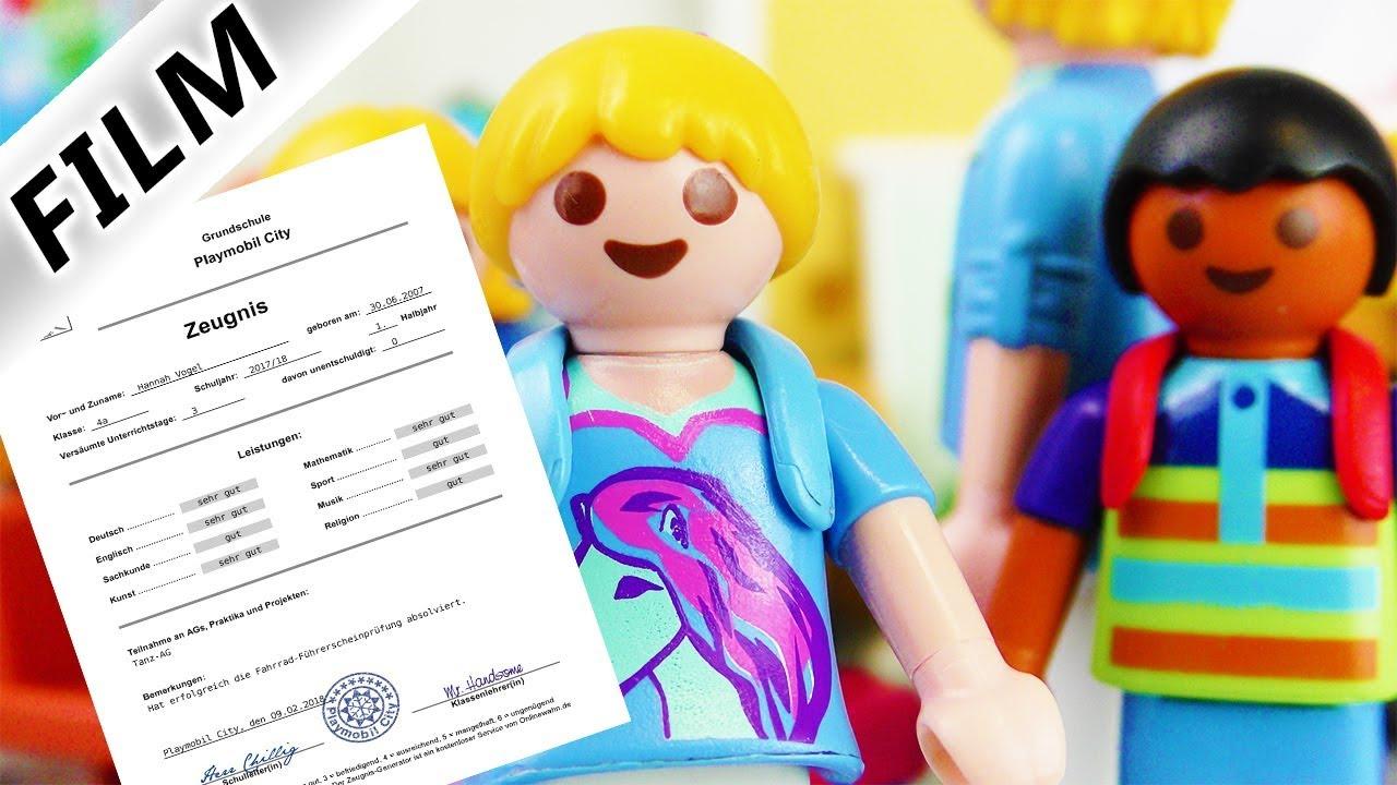Playmobil Film Deutsch Zeugnis Für Hannah Zeugnisvergabe In Der