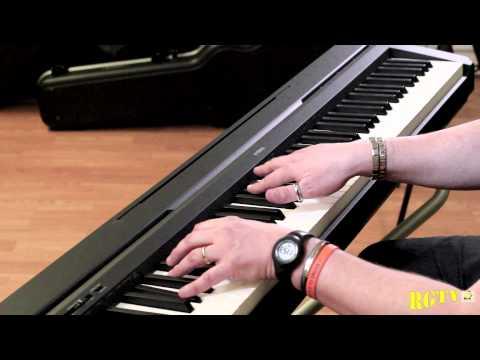 yamaha p45 demo grand piano by andrea girbaudo youtube. Black Bedroom Furniture Sets. Home Design Ideas