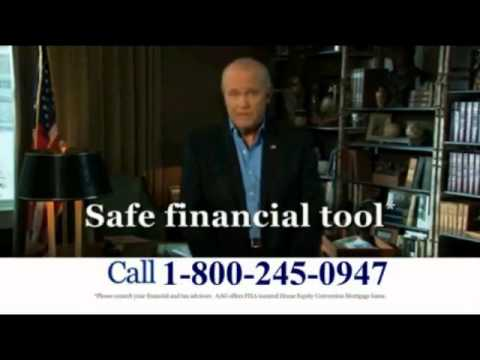 American Advisors Group Fred Thompson Reverse Mortgage Commercial
