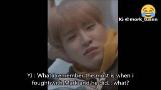 [ENG SUB] Youngjae & Mark Fought Story