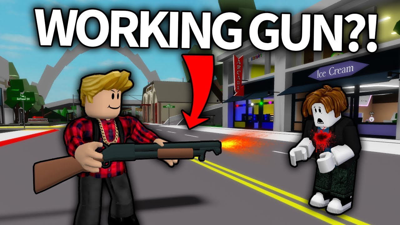Download KILLING BROOKHAVEN PEOPLE WITH GUNS   FUNNY MOMENTS (Roblox Brookhaven 🏡RP)