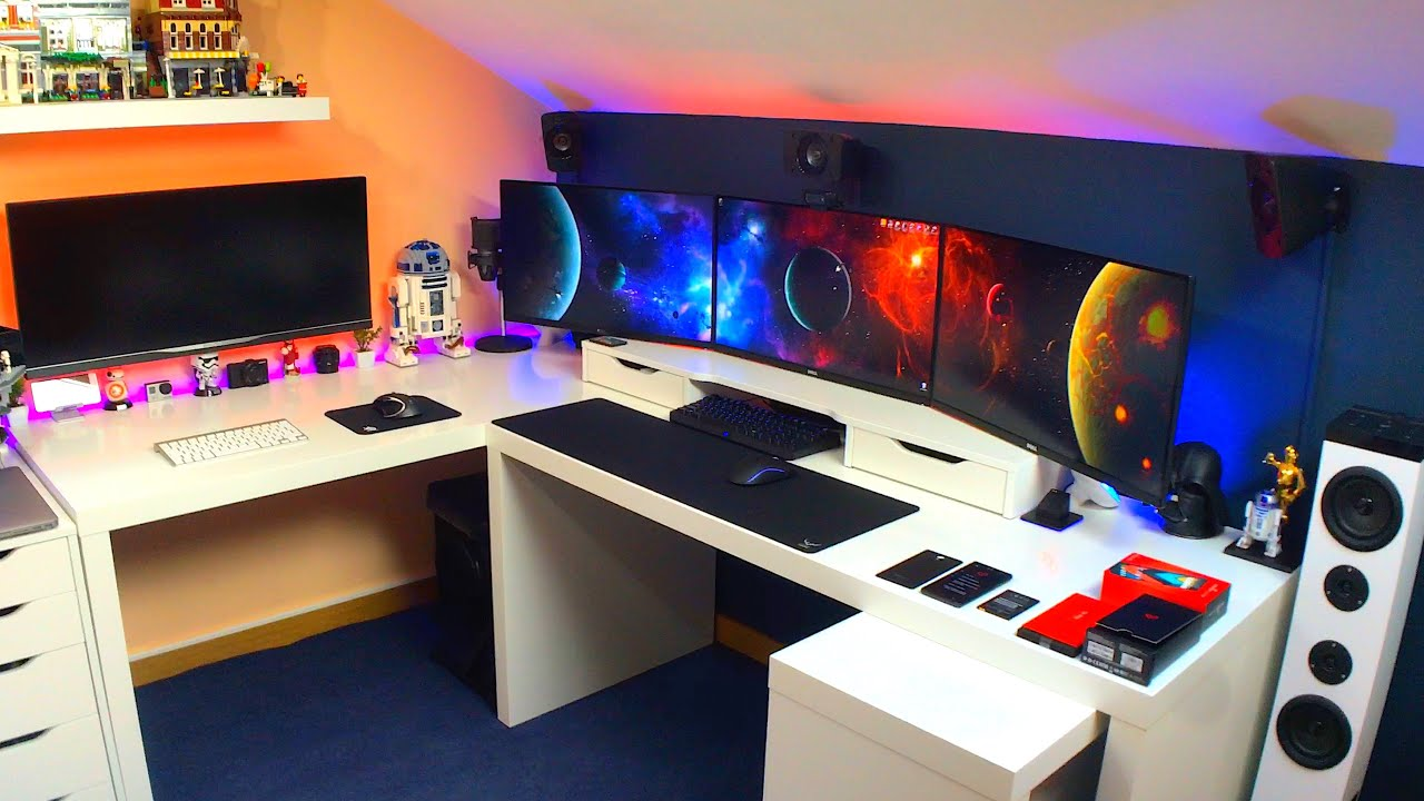 Construindo o Setup de Sonho 2016 Pt 9  Philips Hue