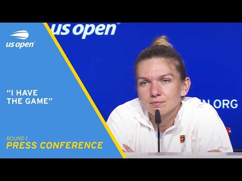 Simona Halep Press Conference | 2021 US Open Round 1