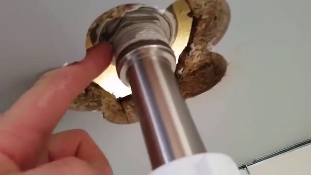 how to install a vessel sink with overflow