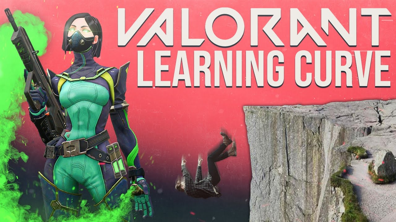 Valorant's learning curve is insane