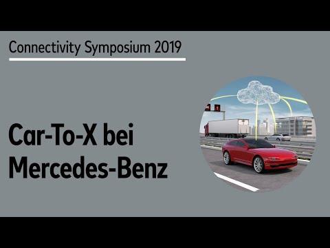 Car2X Anwendungen Und Technologien Bei Mercedes-Benz